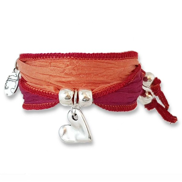 Red Coral - Sweetheart Symbolarmband
