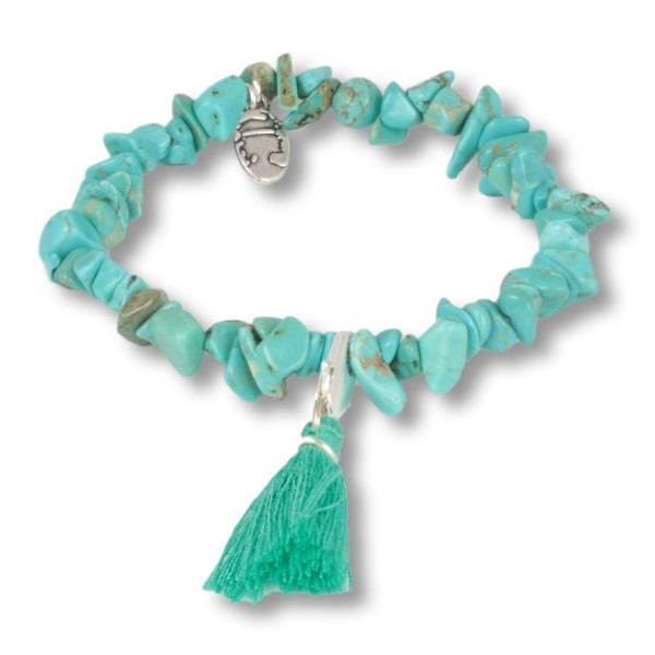 Seagrass - Ocean Daughters Edelsteinarmband aus Türkis