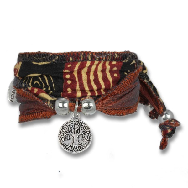 African Colours - Tree of Life Symbolarmband