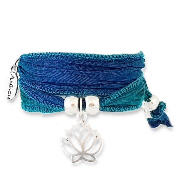 Mermaid Green - Faith Lotus Symbolarmband