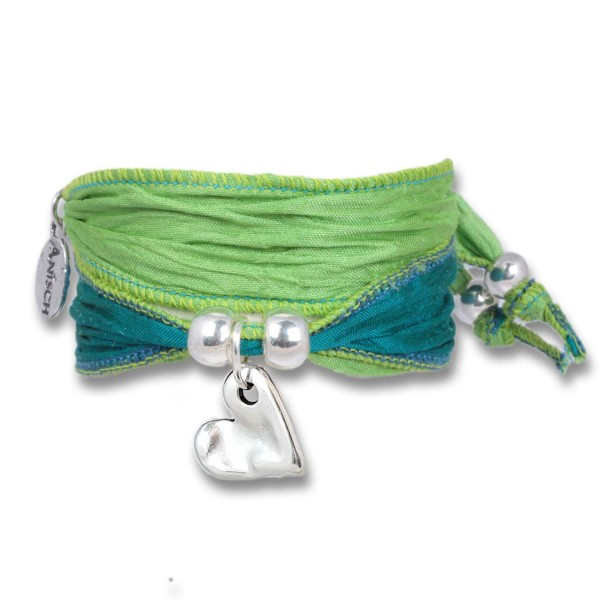 Lime Green- Sweetheart Symbolarmband